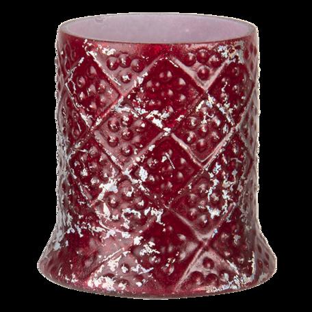 Waxinelichthouder ø 6*7 cm Rood | 6GL3208 | Clayre & Eef