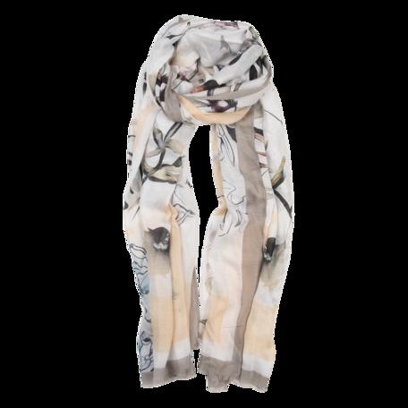 Sjaal 85*180 cm Grijs | JZSC0516G | Clayre & Eef