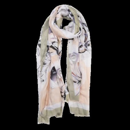 Sjaal 85*180 cm Groen | JZSC0516GR | Clayre & Eef