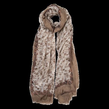 Sjaal 85*180 cm Beige | JZSC0517KH | Clayre & Eef