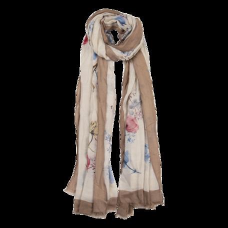 Sjaal 85*180 cm Beige | JZSC0518KH | Clayre & Eef