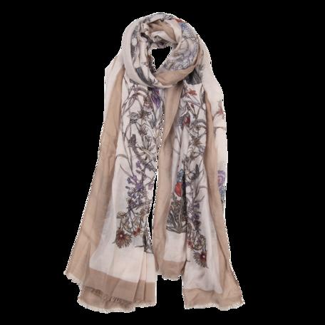 Sjaal 85*180 cm Beige | JZSC0519KH | Clayre & Eef
