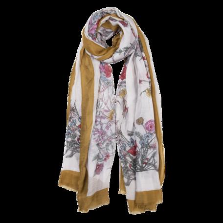 Sjaal 85*180 cm Geel | JZSC0519Y | Clayre & Eef