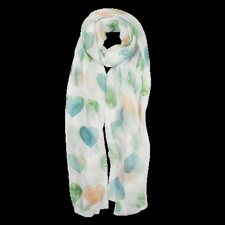 Sjaal 70*180 cm Groen | JZSC0552GR | Clayre & Eef