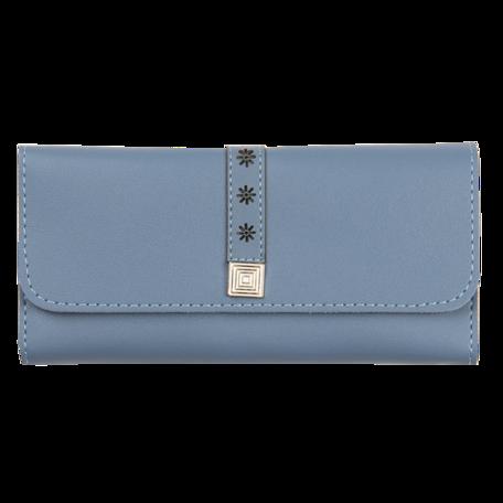 Portemonnee 19*9 cm Blauw | JZWA0115BL | Clayre & Eef