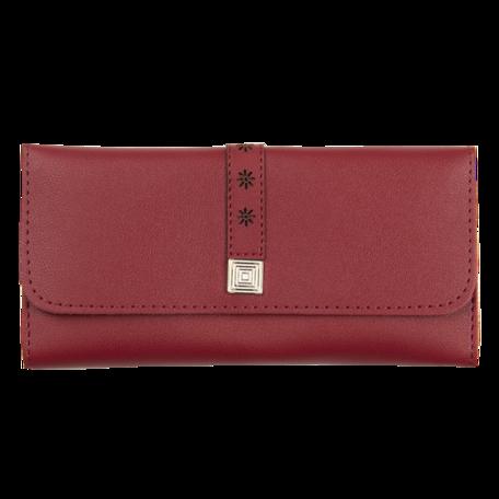 Portemonnee 19*9 cm Rood | JZWA0115R | Clayre & Eef