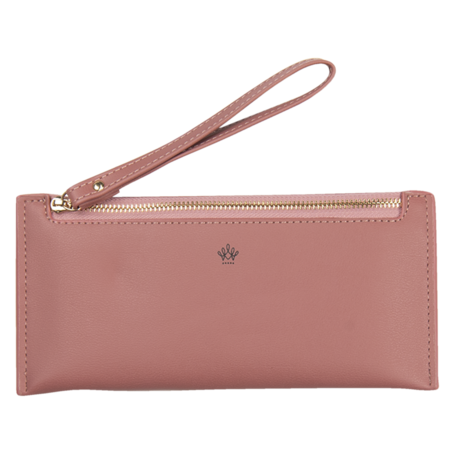 Portemonnee 21*10 cm Roze | JZWA0118P | Clayre & Eef