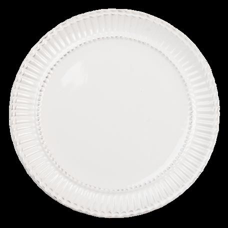 Klein bord ø 21*2 cm Creme   PLDP   Clayre & Eef