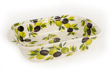 Ovenschaal -lasagneschaal olijven | OLOV01 | Piccobella