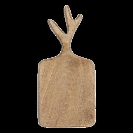 Decoratie snijplank 30*14*2 cm Bruin | 6H2033 | Clayre & Eef