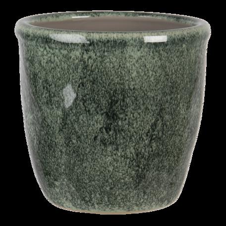 Bloempot ø 16*15 cm Groen | 6CE1259XL | Clayre & Eef