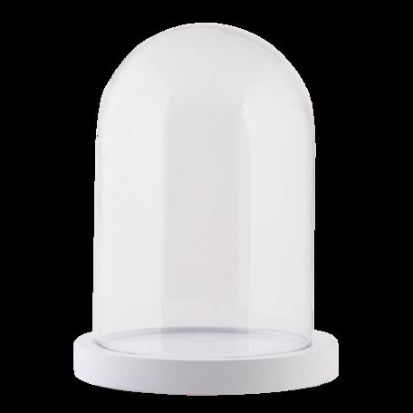 Stolp ø 12*17 cm Transparant | 6GL2168W | Clayre & Eef