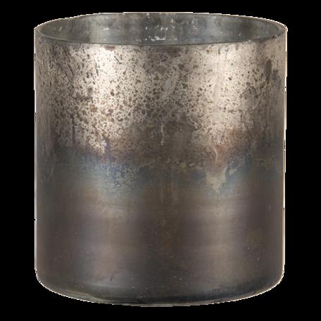 Waxinelichthouder ø 9*10 cm Goudkleurig | 6GL3113 | Clayre & Eef