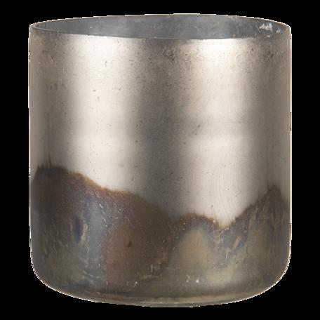 Waxinelichthouder ø 10*11 cm Goudkleurig   6GL3114   Clayre & Eef