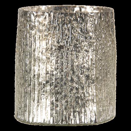 Waxinelichthouder ø 10*12 cm Goudkleurig   6GL3144   Clayre & Eef