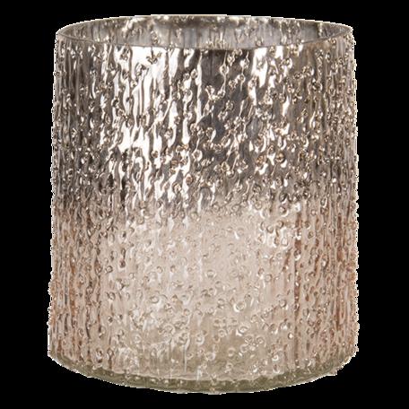 Waxinelichthouder ø 10*12 cm Goudkleurig | 6GL3157 | Clayre & Eef