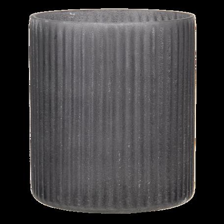 Waxinelichthouder ø 10*12 cm Grijs   6GL3169   Clayre & Eef