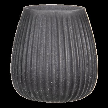 Waxinelichthouder ø 9*10 cm Grijs   6GL3170   Clayre & Eef