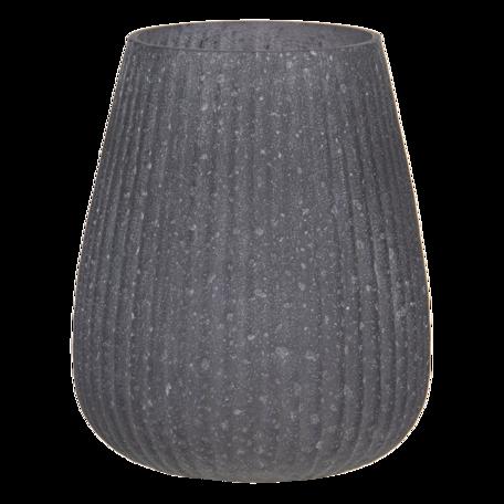 Waxinelichthouder ø 11*13 cm Grijs   6GL3171   Clayre & Eef
