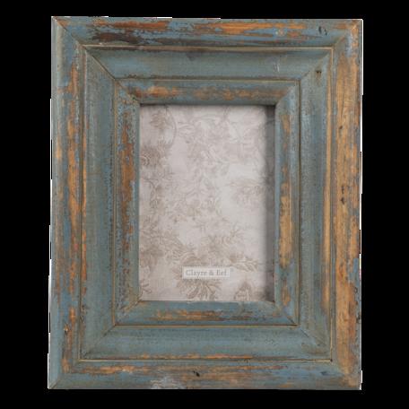 Fotolijst 30*3*25 cm / 18*24 cm Groen | 2F0794 | Clayre & Eef
