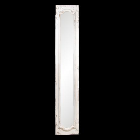 Spiegel 30*4*176 cm Wit   52S244   Clayre & Eef