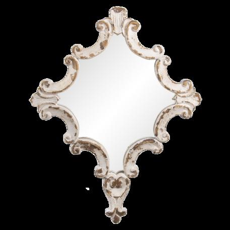 Spiegel 60*3*76 cm Wit   52S245   Clayre & Eef