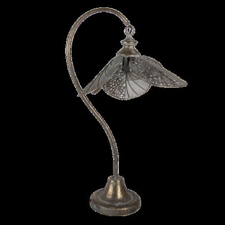 Tafellamp 38*31*72 cm E27 Goudkleurig   5LMP628   Clayre & Eef