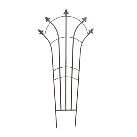 Klimplantenrek 53*1*120 cm Bruin   5Y0860   Clayre & Eef