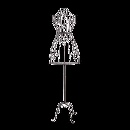 Decoratie paspop 41*30*152 cm Bruin | 5Y0862 | Clayre & Eef