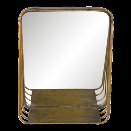 Spiegel 26*11*32 cm Koperkleurig   62S220   Clayre & Eef