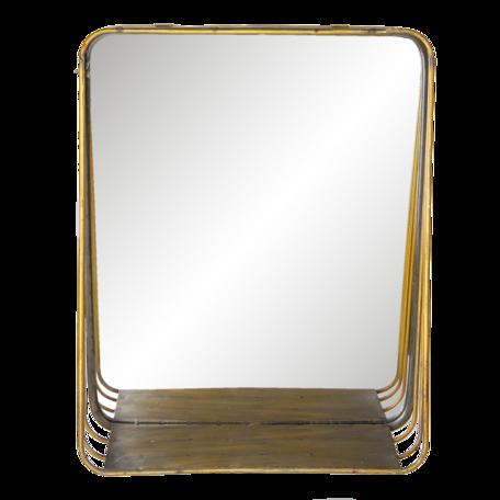 Spiegel 34*11*42 cm Koperkleurig   62S221   Clayre & Eef
