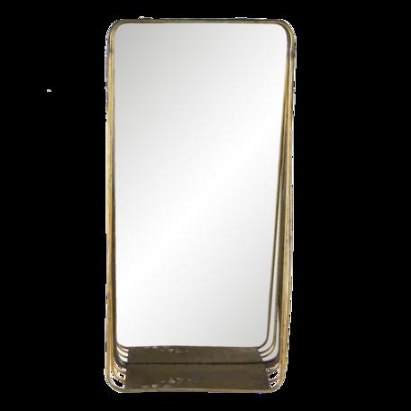 Spiegel 29*11*59 cm Koperkleurig   62S224   Clayre & Eef