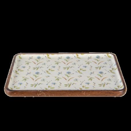 Decoratieve schaal 30*20*2 cm Multi | 6H1975 | Clayre & Eef