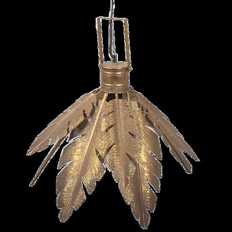 Hanglamp ø 45*31 cm E27/max 1*40W Goudkleurig   6LMP711   Clayre & Eef