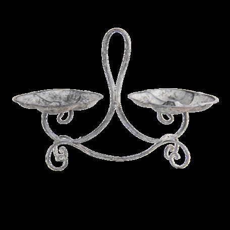 Decoratie schaal 43*18*32 cm Bruin | 6Y4285 | Clayre & Eef