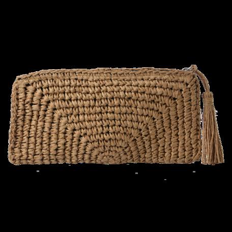 Tas 28*16 cm Bruin | JZBG0240 | Clayre & Eef