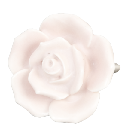 Deurknop ø 4.5 cm Roze | 61861 | Clayre & Eef