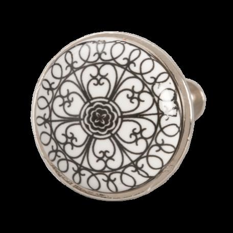 Deurknop ø 3 cm Zwart | 61887 | Clayre & Eef