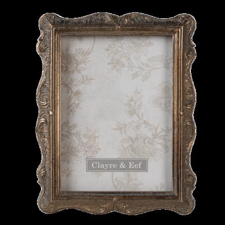 Fotolijst 17*2*22 cm / 13*18 cm Goudkleurig | 2F0828 | Clayre & Eef