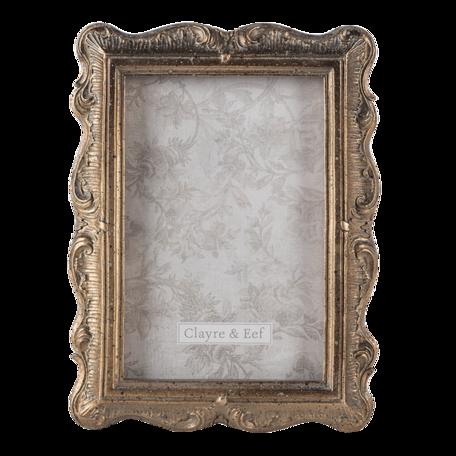 Fotolijst 19*2*24 cm / 13*18 cm Goudkleurig | 2F0830 | Clayre & Eef