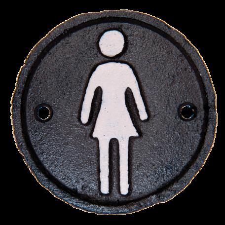 Toiletbordje dames ø 8 cm Bruin   6Y1981   Clayre & Eef