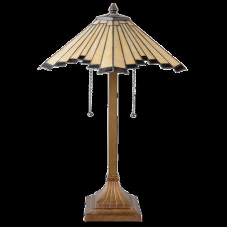 Tafellamp Tiffany ø 45*64 cm E27/max 2*60W Multi | 5LL-5735 | Clayre & Eef