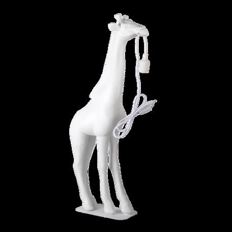 Vloerlamp giraf 48*18*99 cm E27/max 1*25W Wit | 5LMP342 | Clayre & Eef