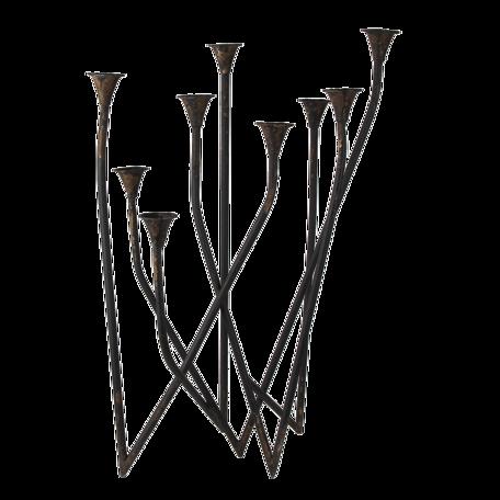 Kandelaar 55*36*76 cm Bruin | 5Y0812 | Clayre & Eef
