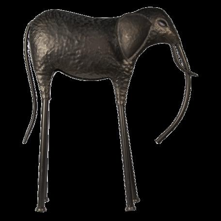 Decoratie olifant 79*26*86 cm Grijs | 5Y0879 | Clayre & Eef