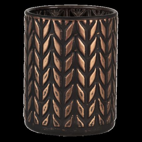 Waxinelichthouder ø 8*10 cm Koperkleurig   6GL3230   Clayre & Eef