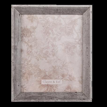 Fotolijst 13*2*18 cm / 10*15 cm Grijs | 2F0796S | Clayre & Eef