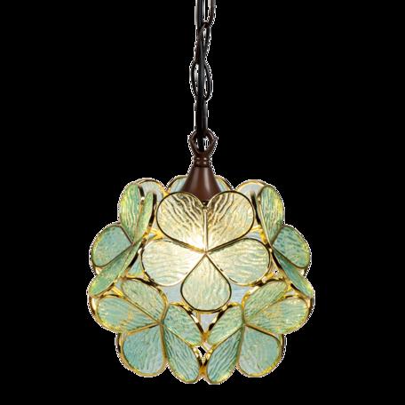 Hanglamp Tiffany ø 25*90 cm E14/max 1*40W Blauw | 5LL-6094 | Clayre & Eef