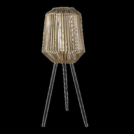Vloerlamp ø 29*80 cm E27/max 1*60W Koperkleurig | 5LMP636 | Clayre & Eef