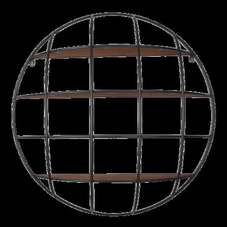 Wandrek 91*20 cm Zwart | 5Y0897 | Clayre & Eef